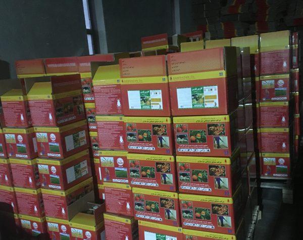 کلرپیریفوس (دورسبان) تولیدی سم سازان در کارنتن های 5 لایه لمینتی با بالاترین کیفیت جهت نگهداری و حفظ ایمنی سم