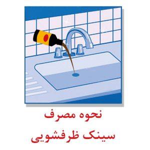 نحوه مصرف مایع فاضلاب 2